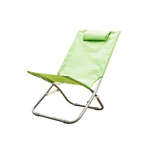 Folding Chair Portable Backrest Multifunction Outdoor Beach Fishing Picnic Chair Household Napping...