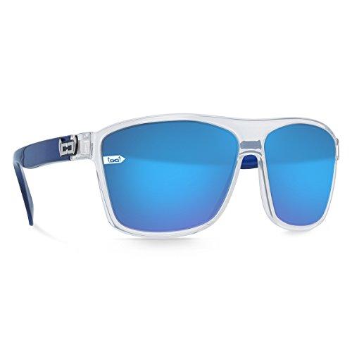 gloryfy unbreakable eyewear Sonnenbrille Gi2 DejaVu Twice crystal blue L, blau
