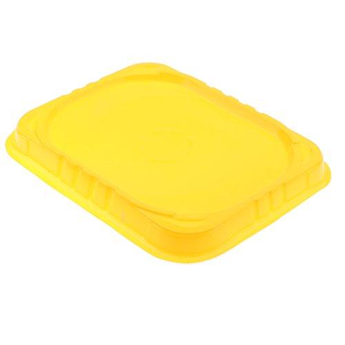 ampfkreisel Stadion Platten - Kreisel Arena Stadion aus Kunststoff - quadratisch - gelb ()