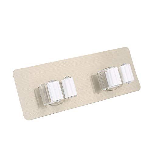 HUACANG Punsch Frei Mophalter/Besenhalter/Gerätehalter Plastikbesen-Clip Küche Balkon Badezimmer Besenspeicher des Besenmops-Wand (Size : M) -