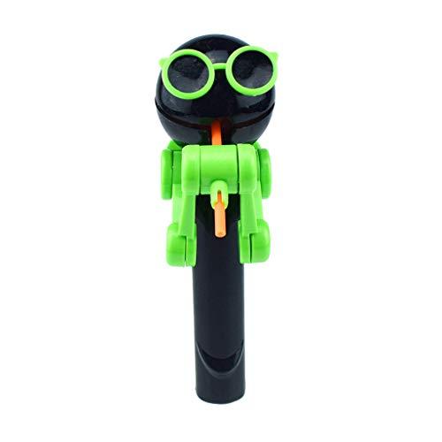 Spielzeug Kreative Lutscher Artefakt Lustige Lebensmittel Lutscher Roboter Halter Stehen Geschenke Spielzeug ()