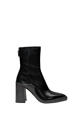 5965n Prada Bottines Femme Bottes Noires Femmes Noir
