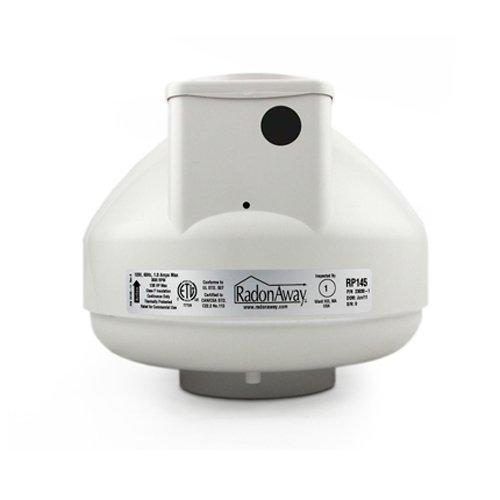 Radonaway radón mitigación Ventilador