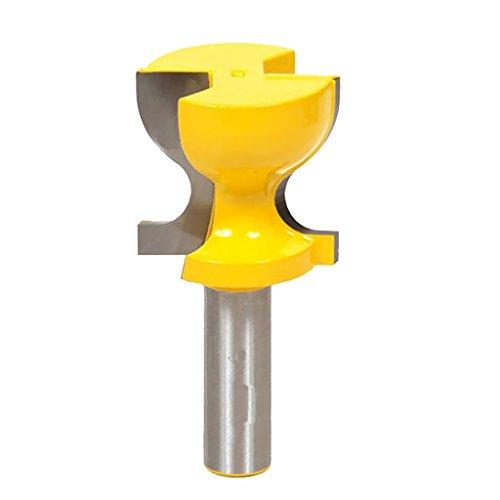 Gazechimp Horizontale Crown Molding Router Bit Oberfräser Holzbearbeitung Fräsen Holzschneider Werkzeug 36.5mm OD