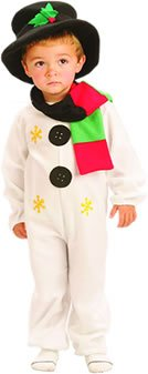 Schneemann Kostüm Kind Uk (Snowman Medium costume for Kids Fancy)