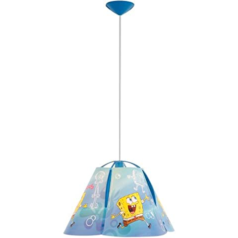 Kids night light ceiling light pendant lamp children Globo Spongebob 60W