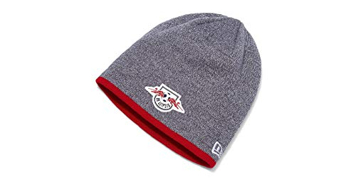 RB Leipzig New Era Graphite Beanie Wintermütze (Kids, Grau)