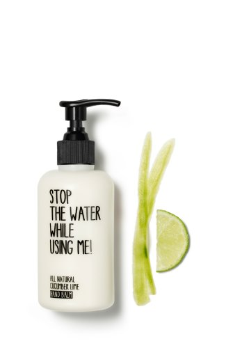 Zitrone Gurke (Stop-the-water While Using Me! Handcreme Cucumber Lime - Gurke - Zitrone - Naturkosmetik (0,2l))