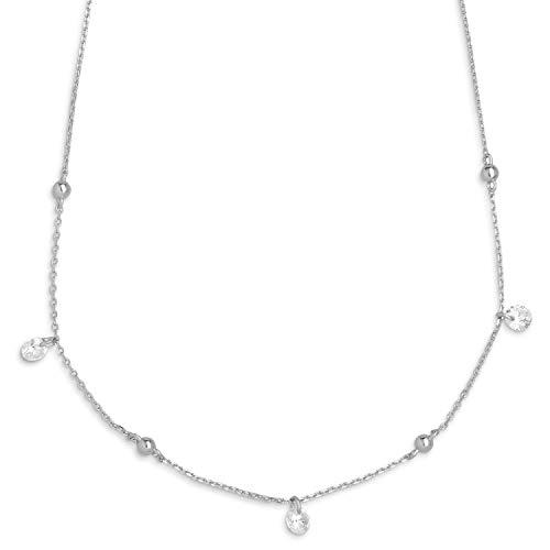 Xenox Silber Damen-Halskette Bohemian Shine XS3580