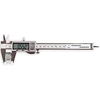 LOUISWARE Electronic Digital Vernier Caliper, with Extra-Large LCD Screen and 150mm 0-6