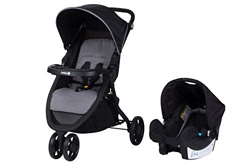 Safety 1st Pack Duo Poussette 3 Roues Urban Trek Black Chic