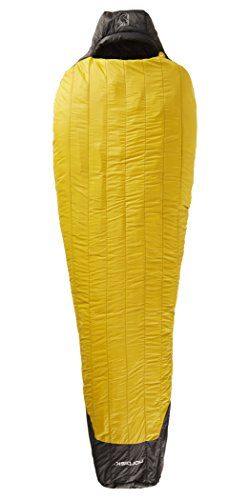 Nordisk Oscar -20° Sleeping Bag XL mustard yellow/black 2016 Mumienschlafsack
