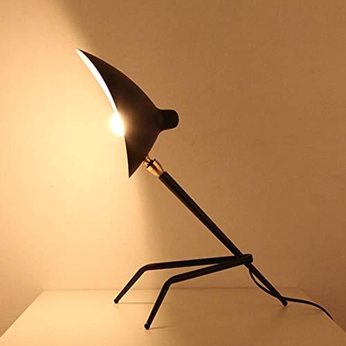 Dormitorio lámpara de mesa_mouille creativo retro plantilla de pato colmillos garras lámpara de mesa sala de estar dormitorio
