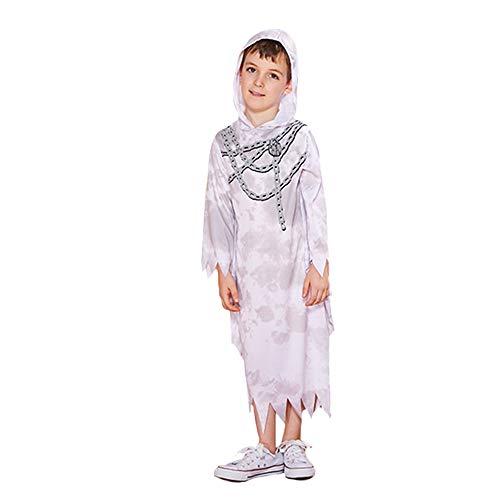 Erwachsene Ghost Robe Kostüm - ZYT 1 Boy Ghost Kostüm Halloween