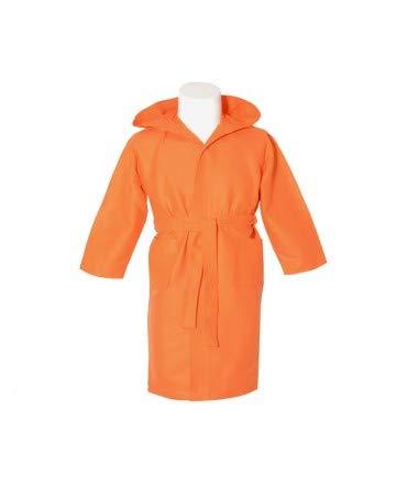 10XDIEZ Albornoz Microfibra Infantil Naranja - Medidas Albornoces - 10