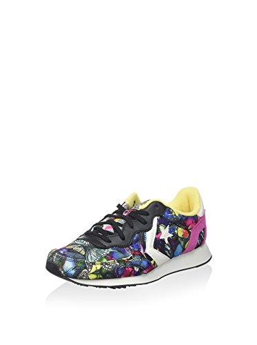 Converse - Auckland Racer, Sneaker Donna Nero/Multicolore/Rosa