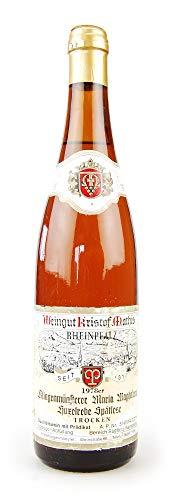 Wein 1978 Klingenmünsterer Maria Magdalena Spätlese Huxelrebe