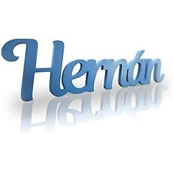 DON LETRA - Nombres Decorativos Personalizados para Pared y Mesa, Decoración para Habitación Infantil, Boda, Comunión de Niños, Fiesta de Cumpleaños