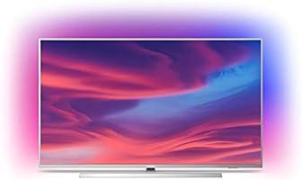 Philips Ambilight 55PUS7304/62 Televizyon, 139 cm (55 inç), Akıllı TV, Açık Gümüş Rengi