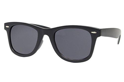 Cheapass Sonnenbrille Wayfarer Schwarz Nerd Damen Herren