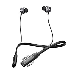 Boult Audio Curve Neckband Wireless Bluetooth Earphones with mic (Black)