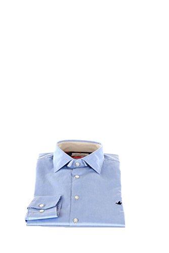 Camicia Uomo Brooksfield 38 Azzurro 202a.q028 Primavera Estate 2016