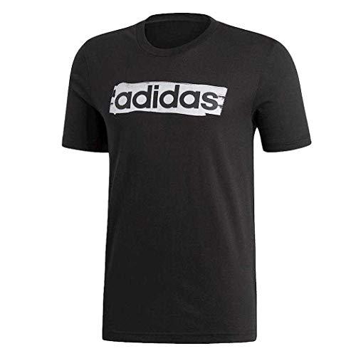 ripetizione sirena analisi  T-shirts Adidas Essentials Linear Brushed   DV3053   FOOTY.COM