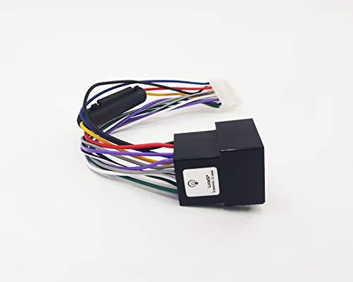 entrada de audio para MP3 o smartphone longitud de 150/cm Cable auxiliar jack hembra Visteon para Fiat Bravo desde 2007