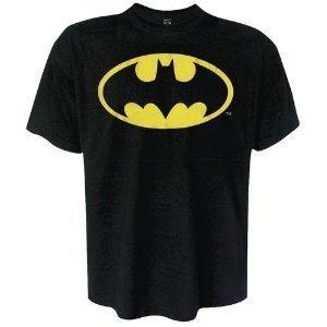 Classic Batman Logo T-shirt (Batman T-Shirt Original Classic Logo in Größe M)