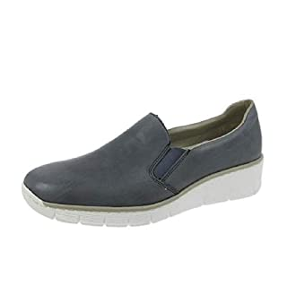 Rieker Melgar Womens Casual Shoes 40 EU Blue