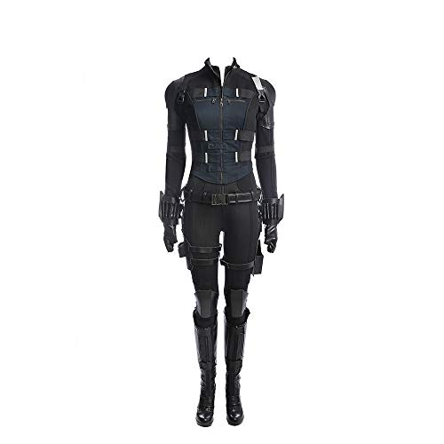 AV: Infinity War Black Widow Cosplay Kostüm Scarlett Johansson - - Large (Black Widow Cosplay)