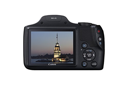 Compare Prices for Canon SX530 HS PowerShot Point and Shoot Digital Camera (16 MP, 50x Zoom, Wi-Fi, 3 inch LCD) – Black Online