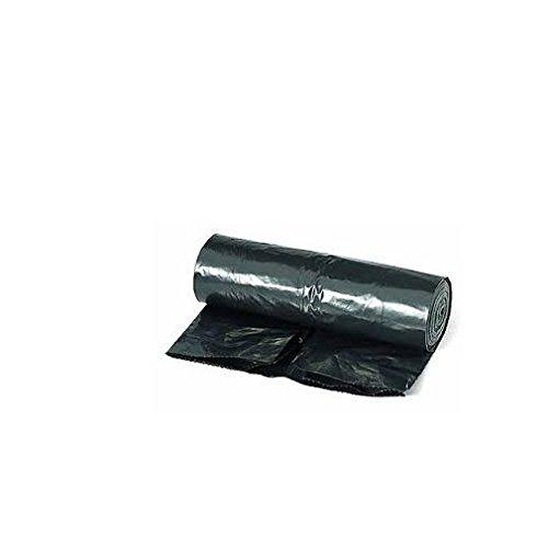 KITCHEN MOVE sacpou50–Set di 10sacchetti pattumiera con legame scorrevoli plastica nero 55,0x 55,0x 85,0cm 50l