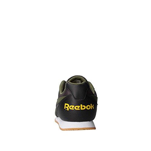 Reebok Jungen Royal Cljog 2rs Joggingschuhe, Collegiate Navy / Vital Blue Mehrfarbig (Coal/hunter Green/primal Yellow)