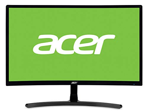 Acer ED242QR LED Display 59,9 cm (23.6') Full HD Curva Negro - Monitor (59,9 cm (23.6'), 1920 x 1080 Pixeles, Full HD, LED, 4 ms, Negro)