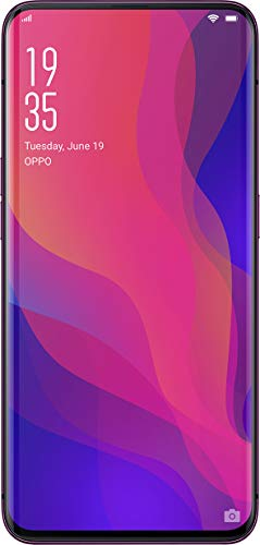 OPPO Find X (Bordeaux Red, 8GB RAM, 256GB Storage) with Offer