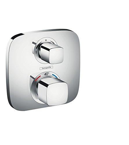hansgrohe Ecostat E Unterputz Thermostat, für 2 Funktionen, Chrom