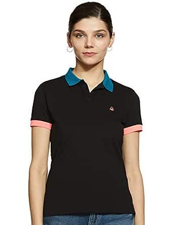 pestillo Sicilia Transición  United Colors of Benetton Damen Polo Poloshirt Damen Bekleidung