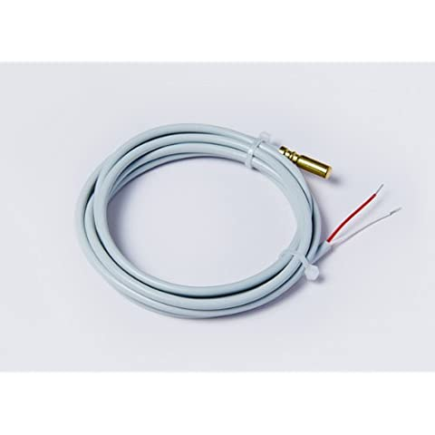 Sonda de temperatura PT1000, cable en PVC. Sensor para depósito