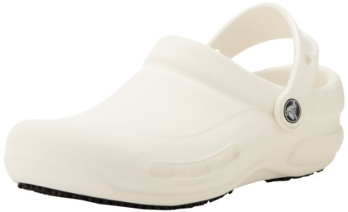 crocs Unisex Bistro 10075 Clogs (46,5 EU/11 UK) (Weiß) -