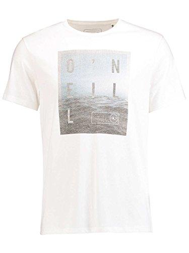 O 'Neill Herren Oberfläche T-Shirt Tees Weiß