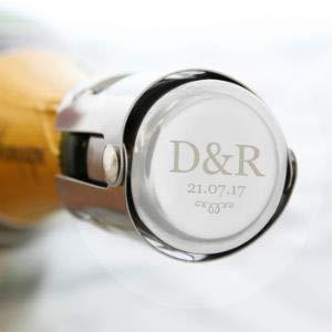 Miss Pretty London Personalisierbarer Flaschenverschluss mit Monogramm