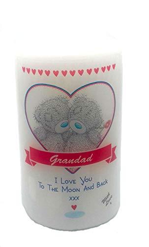 Grandad I Love You To The Moon And Back Me to You Kerze Neuheit Andenken und Geschenk Idee My Geschenke Geschenke für Geburtstag Weihnachten Vatertag