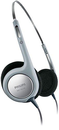 Philips SBCHL140 Casque audio Noir/Argent