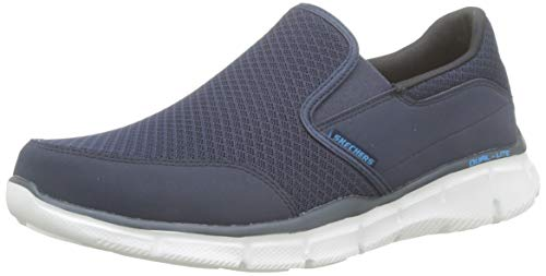 Skechers Herren ULTRA FLEX-SALUTATIONS-51361 Low-Top, Blau (Navy), 41 EU