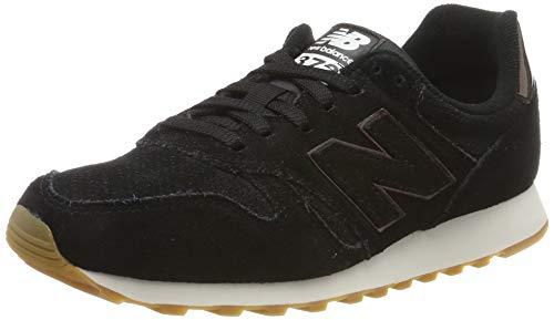New Balance 373, Zapatillas para Mujer, Negro (Black Black), 39 EU