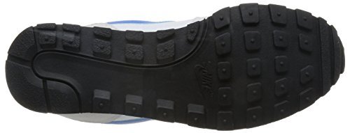 Nike MD Runner 2 Lauchuhe, Scarpe da Corsa Uomo Bianco (Weiß/blau Lagoon/cool Grau)