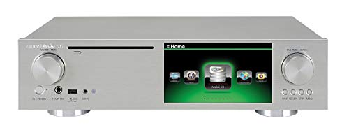 CocktailAudio X45-S1000-s X45 Musikserver mit Dual Sabre³² Referenz DAC, 1TB 6.35 cm (2,5 Zoll) SSD Silber