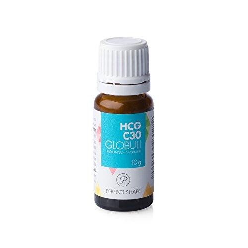 Produktbild HCG Globuli für Stoffwechselkur (HCG Diät) - Potenz C30, 100% hormonfrei (Das Original aus der Apotheke)