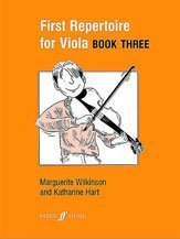 First Repertoire for Viola. Book 3